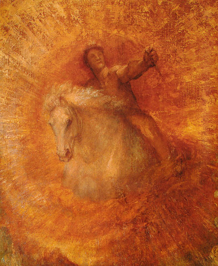 Progress (detail), George Frederic Watts (18X22)
