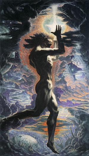 Prometheus, Delville (16X28)