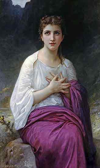 Psyche, William Bouguereau