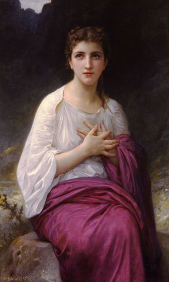 Psyche, William-Adolphe Bouguereau (16X27.75)