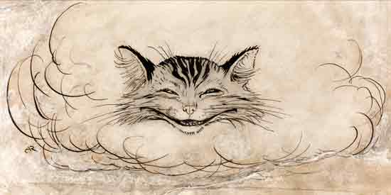 The Cheshire Cat, Arthur Rackham