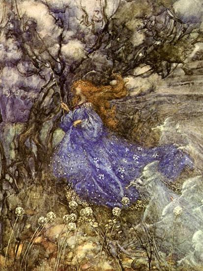 Fairy,  Arthur Rackham