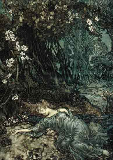 A Midsummer Night's Dream, Titiana , Rackham