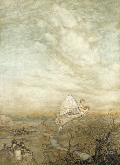 Midsummer Night's Dream, Arthur Rackham