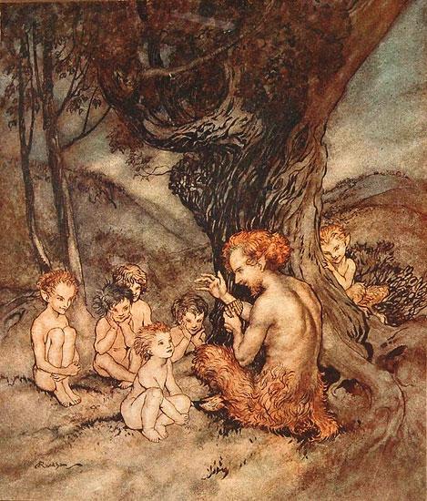 Pan, Arthur  Rackham (12X14)