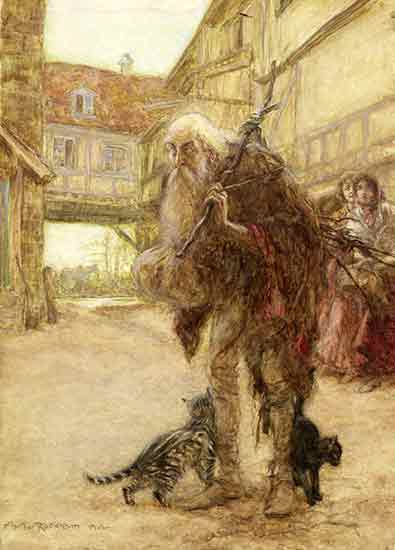 The Wizard, Arthur Rackham