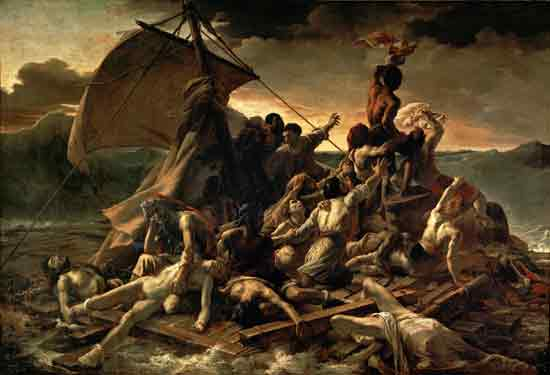 The Raft of the Medusa, Gericault (23X34)