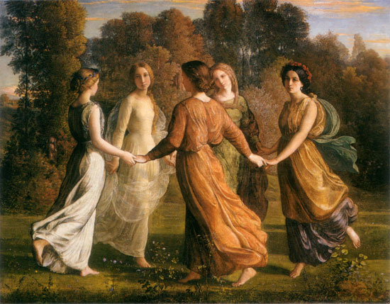 Rays of Sunshine, Louis Janmot (17X22)