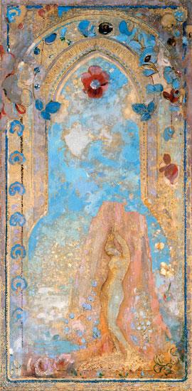 Andromeda, Odilon Redon (16X32.6)