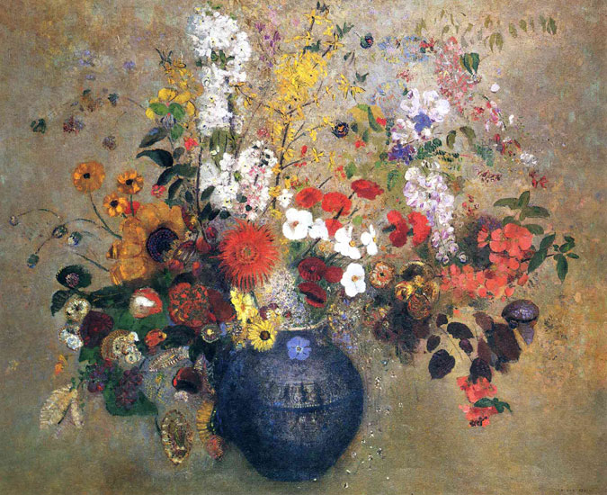Flowers 6, Redon