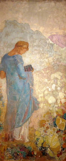 Pandora, Odilon Redon
