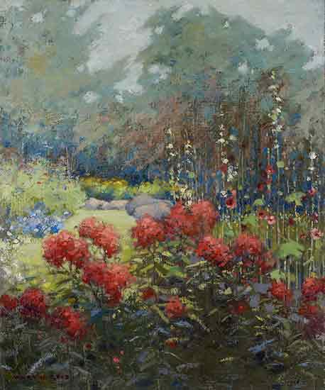 A Garden in September Mary Hiester Reid