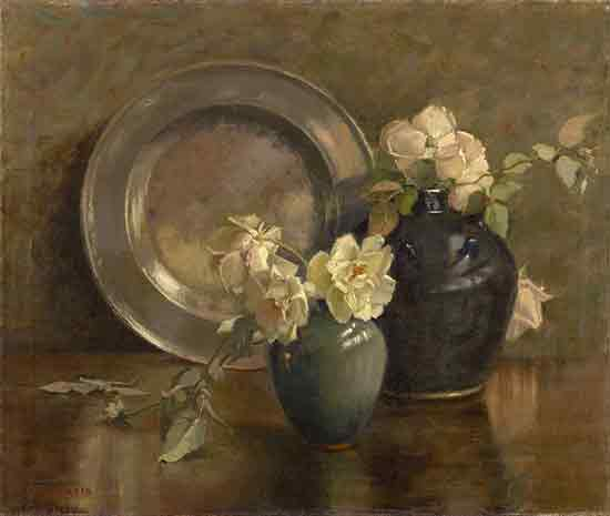 A Study in Greys, Mary Hiester Reid
