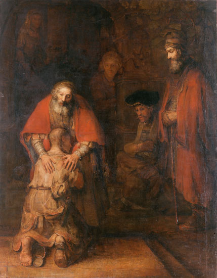 The Prodigal Son, Rembrandt (22X28.25)