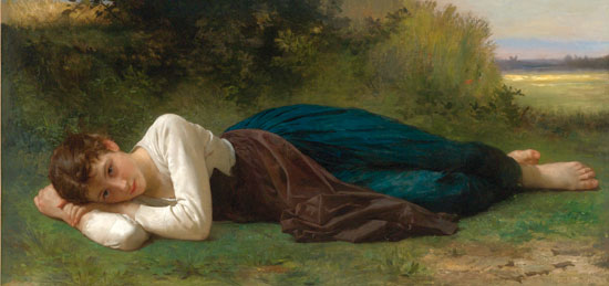 Repose, William Bouguereau
