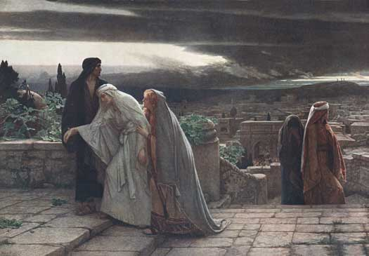 The Return from Calvary, Schmalz (16X23)