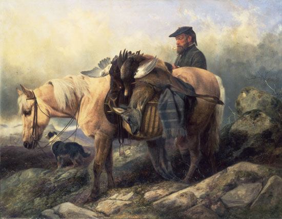 Return from the Hill, Ansdell (24X31)