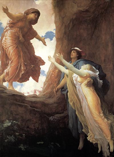 The Return of Persephone, Fredrick Leighton )16X22)