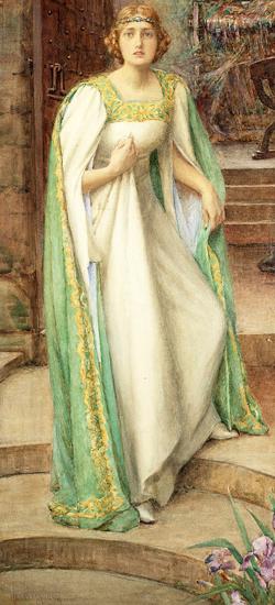 Lady of Shalott, Henry Meynell Rheam