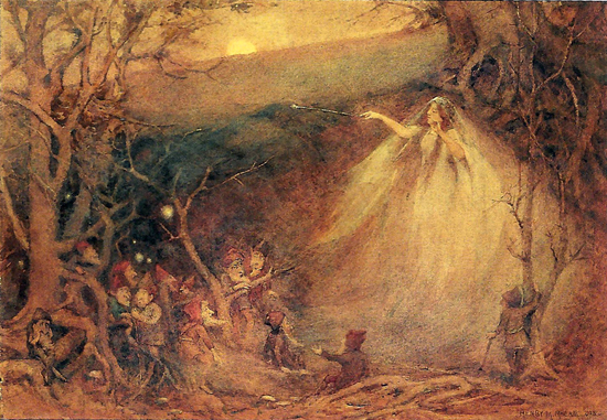 Queen Mab, Henry Meynell Rheam (12X17)