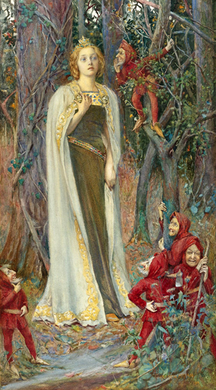 Snow White, Henry Maynell Rheam (12X22)