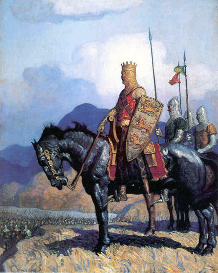 Richard the Lionhearted , N. C. Wyeth