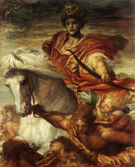 The Rider on the White Horse, Watts (18X22.25)