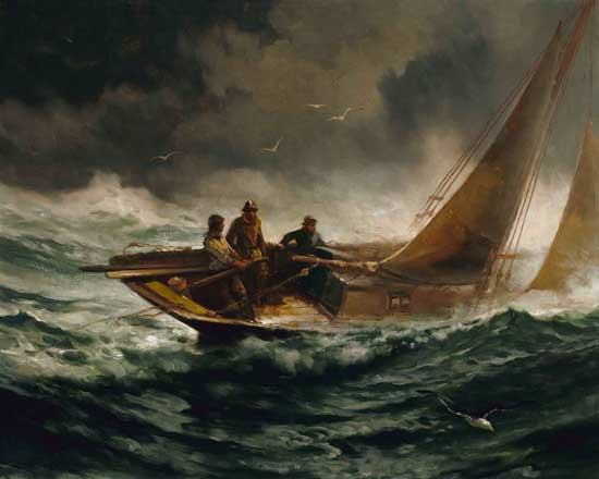 Riding out the Gale, Moran
