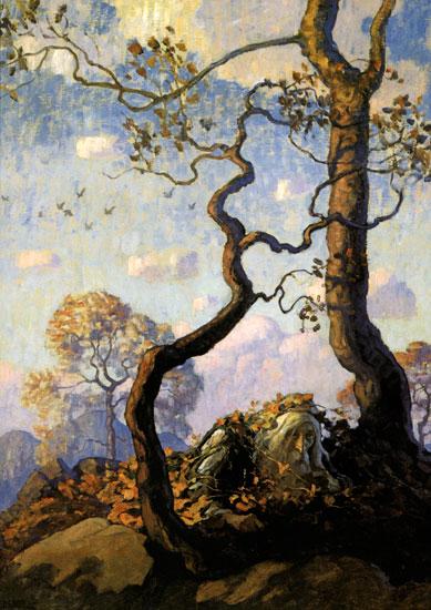 Rip van Winkle, N. C. Wyeth (15.5X22)
