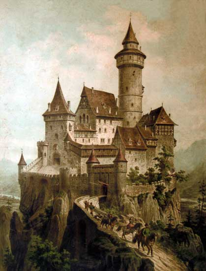 Ritterburg Castle (16x21)