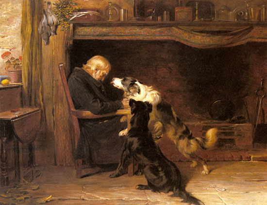 The Long Sleep, Briton Riviere (16X21)