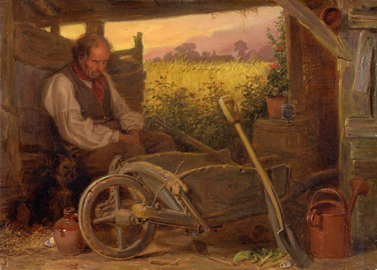 The Old Gardener, Briton Riviere