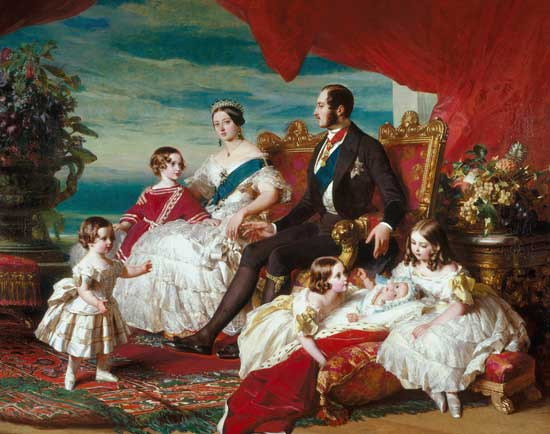 Royal Family in 1846 by Franz Xaver Winterhalter