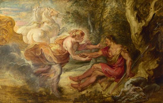 Aurora Abructing Cephalus, Rubens (22X34.8)
