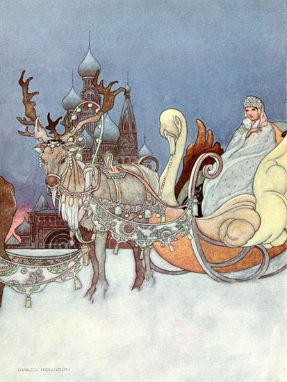 Snow Queen Illustrations