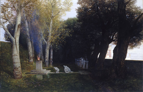 The Sacred Grove, Bocklin (16X25)