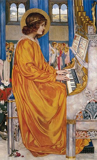 Saint Cecilia, Kate Bunce (13.5X22)