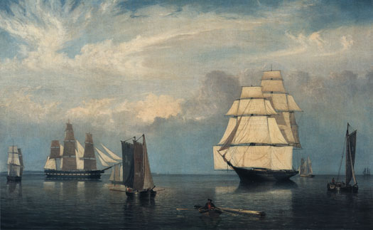 Salem Harbor, Fitz Hugh Lane