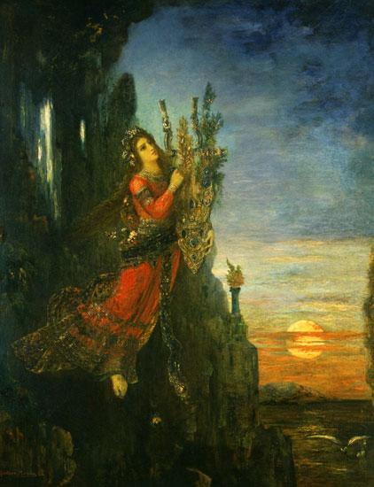 Sappho, Gustave Moreau (22X28.7)