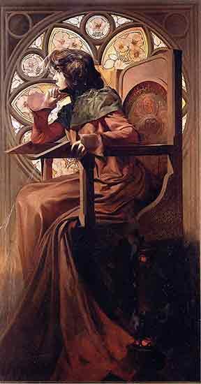 Sarah Bernhardt, Alphonse Mucha