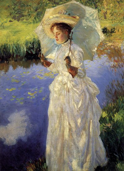 Morning Walk, John Singer Sargent