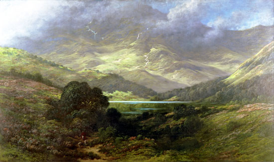 Scottish Highlands, Gustave Doré