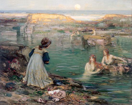 Sea Maidens, Thomas Blacklock
