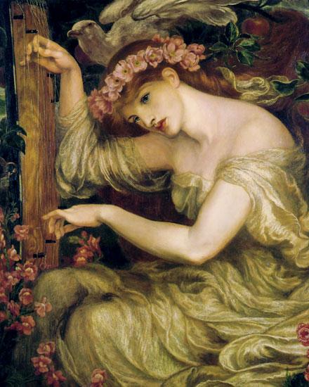 A Sea Spell,Dante Gabriel Rossetti