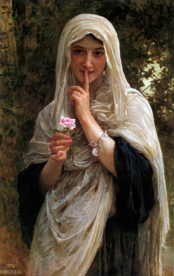 The Secret, William-Adolphe Bouguereau