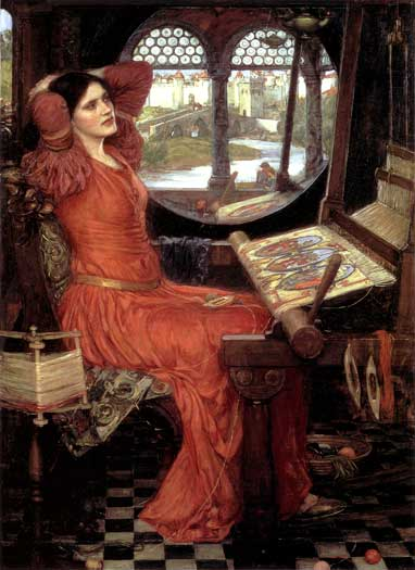 I am Half Sick of Shadows-Lady of Shallot, Waterhouse (16X22)