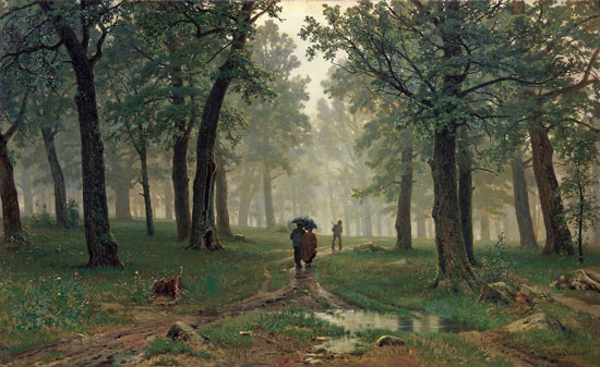 Oak Forest , Ivan Shishkin (19x31)