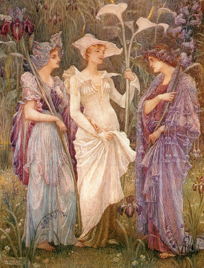 Signs of Spring, Walter Crane