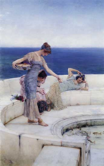 Silver Favorites, Alma Tadema (20X32)