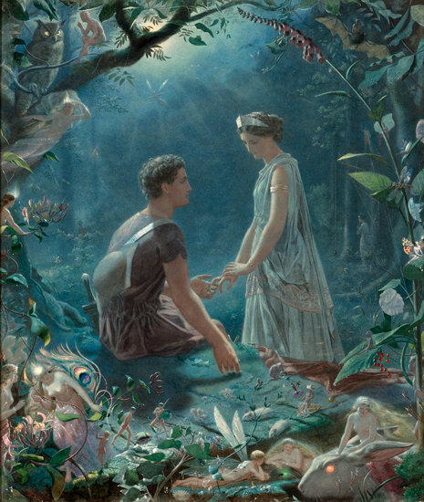 Hermia and Lysander, John Simmons (22X26)